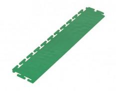 PVC Kantenleiste grün - Abschlussleiste 500 x 100 mm für industrielle PVC Klickfliesen
