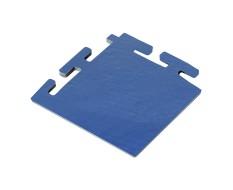 PVC Eckstück blau 100 x 100 x 6 mm. für industrielle PVC Klickfliesen