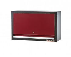 Hängeschrank Rot 72 x 28 x 40 cm mit Gasfeder Klappe