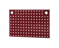 Werkzeuglochwand Rot 69 x 40 cm für Heavy duty Werkstatteinrichtung