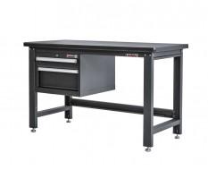 Werkbank für Elektronik mit Schubladeneinheit 152 x 65 x 88,5 cm - Montagetisch für Elektronik