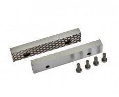 Ersatz Schraubstockbacken 100 mm (1 Paar) gehärtet für Schraubstock 1617C inkl. 4 Schrauben