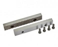 Ersatz Schraubstockbacken 125 mm (1 Paar) gehärtet für Schraubstock 1627C inkl. 4 Schrauben