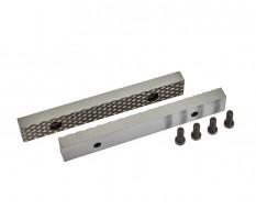 Ersatz Schraubstockbacken 150 mm (1 Paar) gehärtet für Schraubstock 1628C inkl. 4 Schrauben