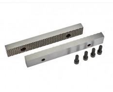 Ersatz Schraubstockbacken 200 mm (1 Paar) gehärtet für Schraubstock 1629C inkl. 4 Schrauben