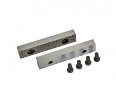 Ersatz Schraubstockbacken 75 mm (1 Paar) gehärtet für Schraubstock 1636C inkl. 4 Schrauben