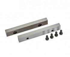 Ersatz Schraubstockbacken 100 mm (1 Paar) gehärtet für Schraubstock 1637C inkl. 4 Schrauben
