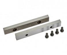 Ersatz Schraubstockbacken 125 mm (1 Paar) gehärtet für Schraubstock 1630C inkl. 4 Schrauben