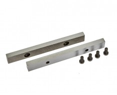 Ersatz Schraubstockbacken 150 mm (1 Paar) gehärtet für Schraubstock 1634C inkl. 4 Schrauben