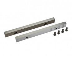 Ersatz Schraubstockbacken 200 mm (1 Paar) gehärtet für Schraubstock 1635C inkl. 4 Schrauben