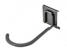 Fahrradaufhängung aus Metall für 0850 Schienensystem - Wandbügel Fahrrad - Wandhalterung vertikal für Fahrrad