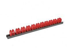 Schraubendreher Halter - Werkzeughalter für 11 Werkzeuge - Werkzeug Wandhalter