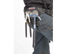 Hammerhalter für Gürtel - Nylon mit 2 x Metallbügel