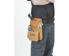 Werkzeugtasche für Gürtel - Leder