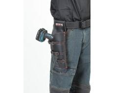 Akkuschrauber Halterung für Gürtel - Leder