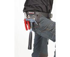 Hammerhalter Leder mit Schwingender Metallbügel