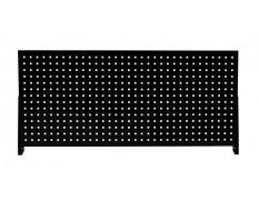 Werkzeuglochwand Schwarz 152 x 68 cm