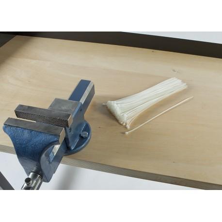 100 Kabelbinder - 3.5 x 300 mm Weiß