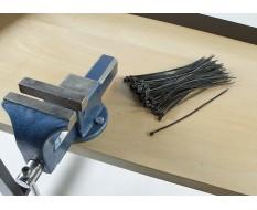 100 Kabelbinder - 4.6 x 300 mm Schwarz