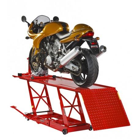 Motorradhebebühne mit Motorradwippe