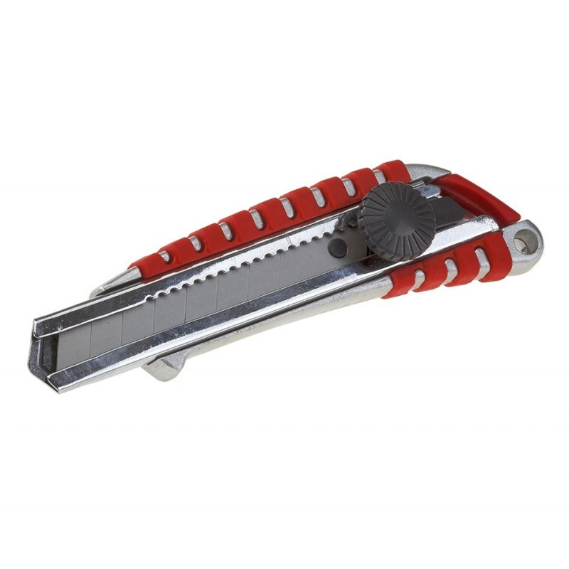 Teppichmesser  Cuttermesser  Abbrechmesser 18 mm Alu