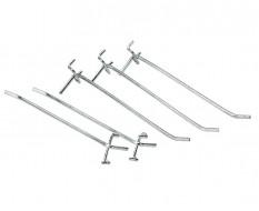 Satz 5 Werkzeughaken für Lochwand von Werkstattschrank 0812 + 0813 (Haken lang)