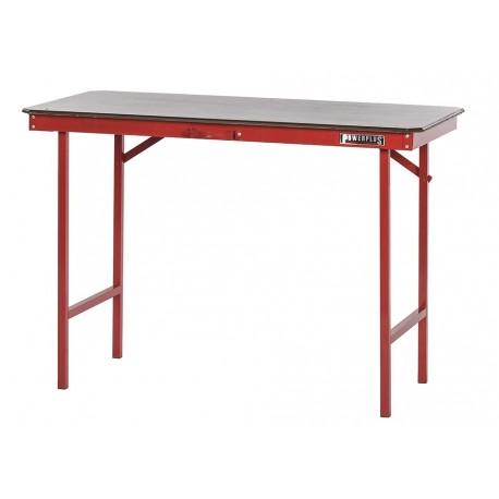 Werkbank Tragbar - 120 cm. rot