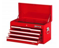 Werkzeugkiste Rot mit 6 Schubladen