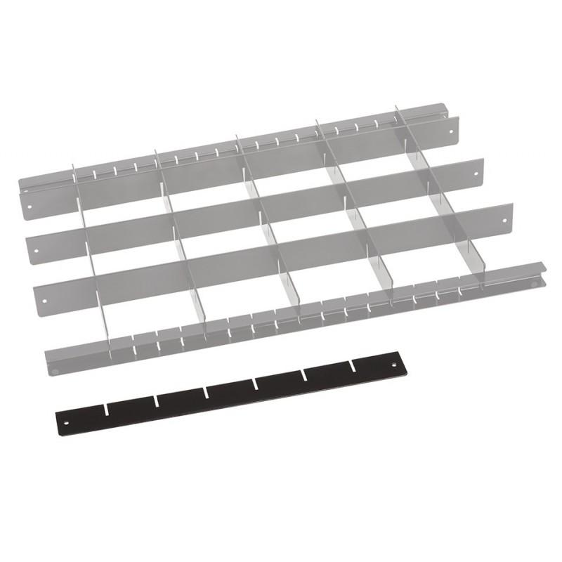 Trenner fur schublade werkstattwagen einlagen werkzeug for Schubladen sortiersystem