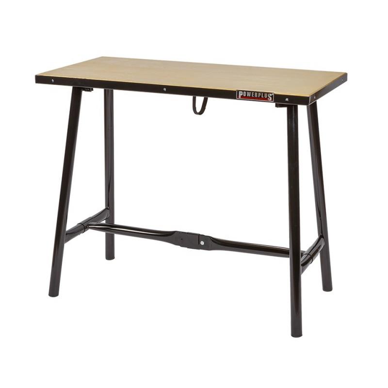werkbank klappbar klappbare werkbank werkbank tragbar 120 powerplustools gmbh. Black Bedroom Furniture Sets. Home Design Ideas