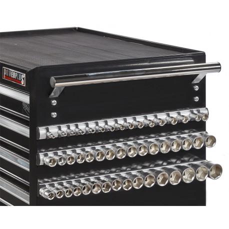 Magnetleisten Set 3-teilig für 48 Stecknüsse