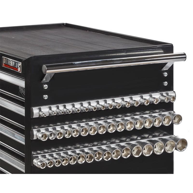 magnetleisten set 3 teilig f r 48 steckn sse. Black Bedroom Furniture Sets. Home Design Ideas