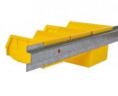 Montage-Wandleiste - Metallstreifen 150 cm