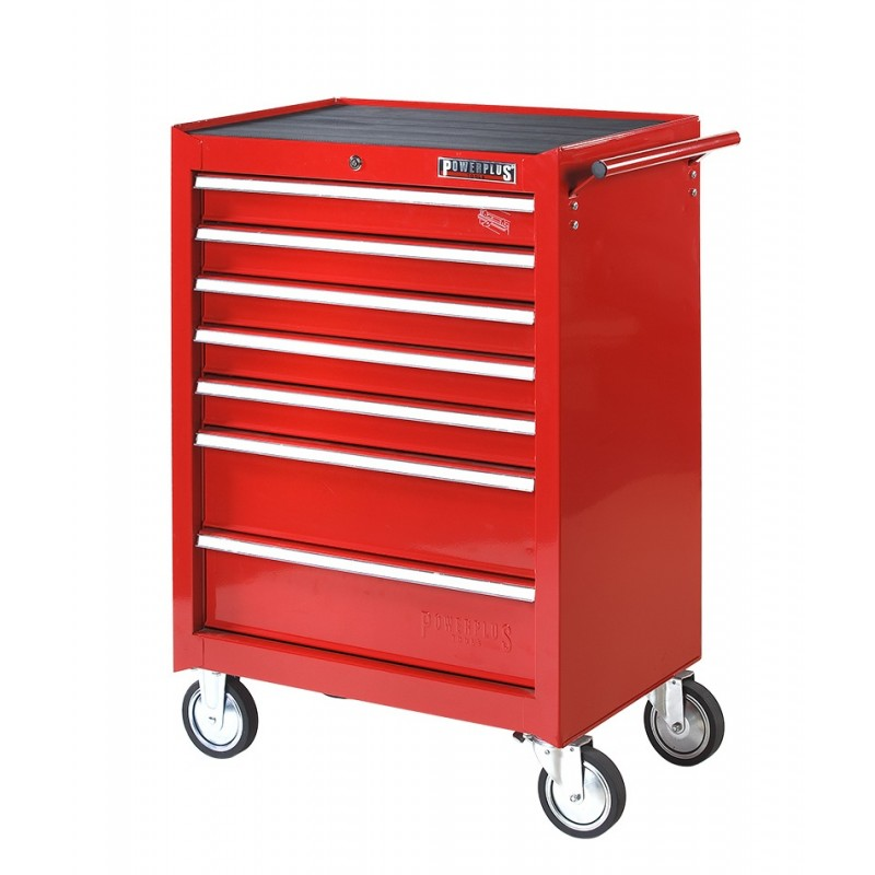 werkstattwagen 2 schubladen mit werkzeug und 5 leer werkstattwagen best ckt rot. Black Bedroom Furniture Sets. Home Design Ideas