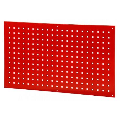 Werkzeug Lochwand metall Rot 100 x 59 cm