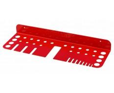 Werkzeughalter für Schraubendreher Rot