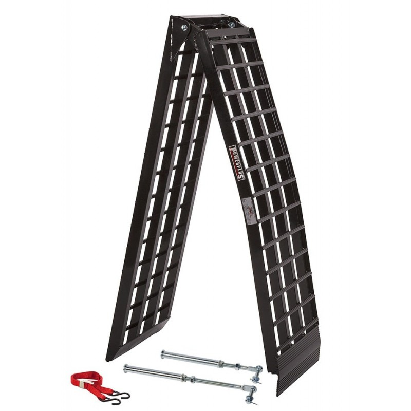 auffahrrampe motorrad klappbar aluminium extra stark und breit 275 cm x 44 cm schwarz. Black Bedroom Furniture Sets. Home Design Ideas