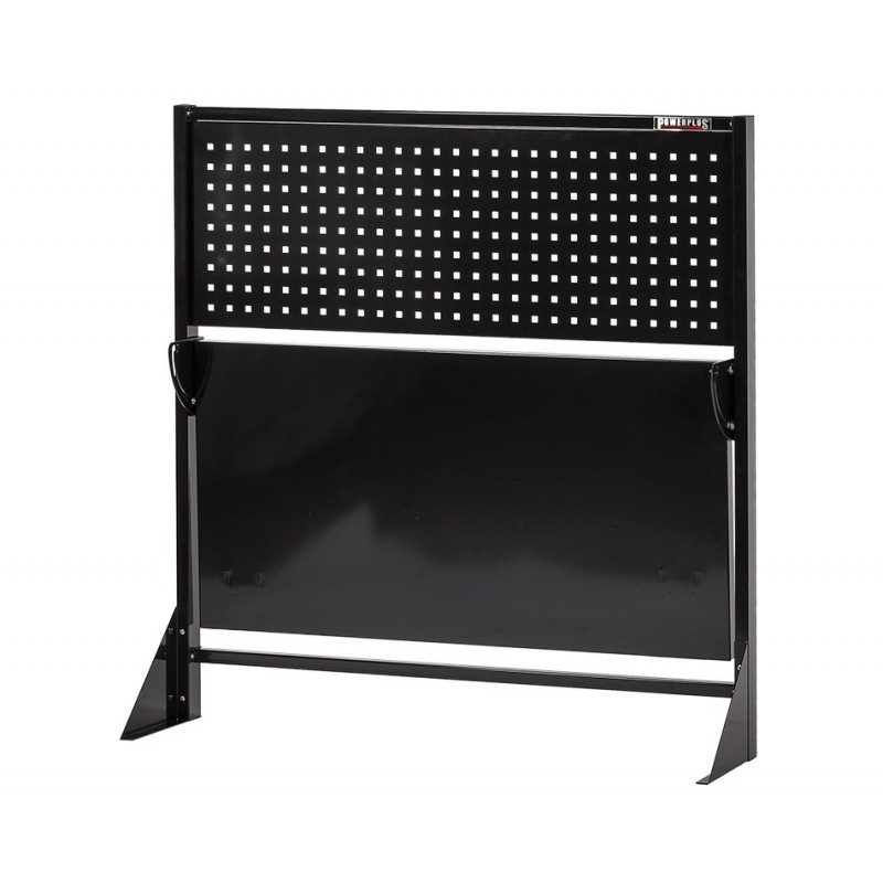 klappbare metallwerkbank mit lochwand 133 x 67 5 x 138 cm werkbank klappbar metall mit. Black Bedroom Furniture Sets. Home Design Ideas