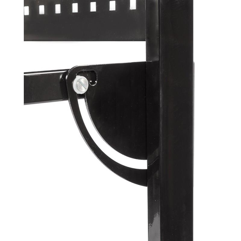 klappbare metallwerkbank mit lochwand 133 x 67 5 x 138 cm. Black Bedroom Furniture Sets. Home Design Ideas