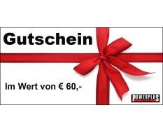 Geschenkgutschein 60 EUR