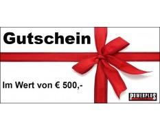 Geschenkgutschein 500 EUR