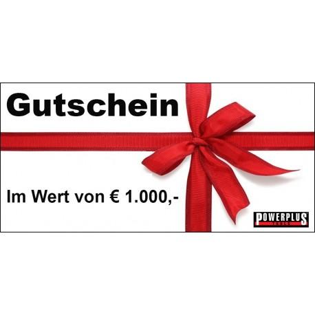 Geschenkgutschein 1000 EUR