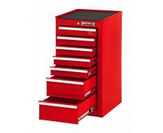 Werkzeugschrank 7 Schubladen Rot