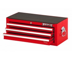 Werkzeugkiste Rot 3 Schubladen