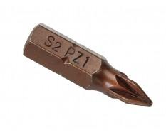 PZ1 Pozidriv Bit Set 25 mm aus S2 Stahl - 40 Stk