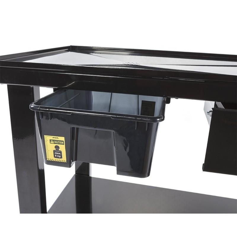mobiler montagetisch mit rollen 120 x 64 cm werkbank mit lwanne demontage tisch mobil. Black Bedroom Furniture Sets. Home Design Ideas