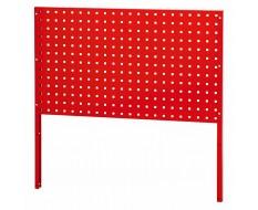 Werkzeug Lochwand metall Rot 101 x 59 cm