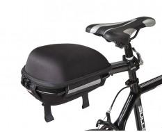 Satteltasche inkl. Sattelträger für Fahrrad - Rennrad - Mountainbike - Sattelstützen Gepäckträger inkl. Aufbewahrungstasche
