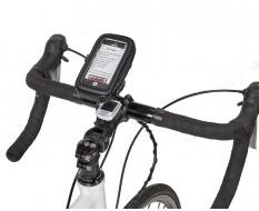 Fahrrad Handytasche mit Handyhalterung - Lenkerhalterung für Smartphone Staub und Wasserabweisend 120 x 55 x 20 mm
