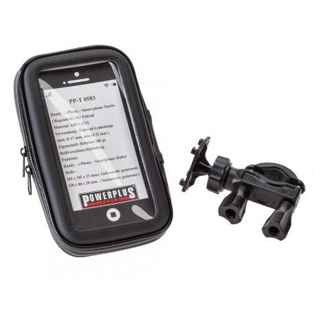Fahrrad Handytasche mit Handyhalterung - GSM 6 inch - Lenkerhalterung für Smartphone Staub und Wasserabweisend 150 x 80 x 28 mm